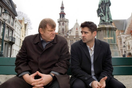 Ken (Brendan Gleeson) and Ray (Colin Farrell) © Film4 Productions/Focus Features