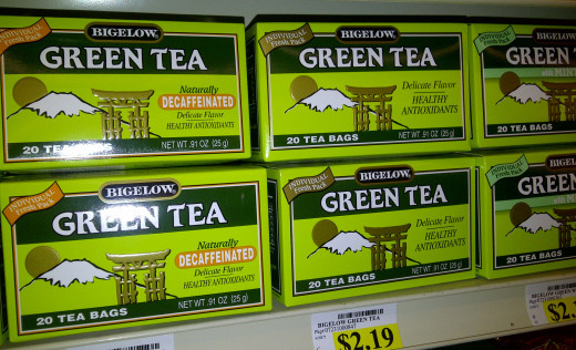 Boxes of tea bags for under $3