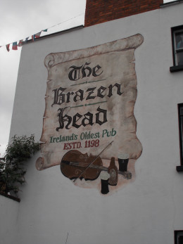 Brazen Head Pub, the oldest Pub in Ireland, open since 1198