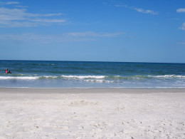 Clean, unspoiled, family-friendly beach
