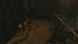 Metro Last Light stop the fan turning by pressing a button and get past the fan in the Red Line Mission
