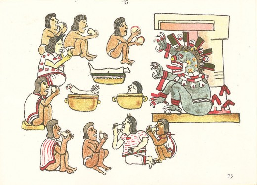 Ancient civilizations that practiced cannibalism