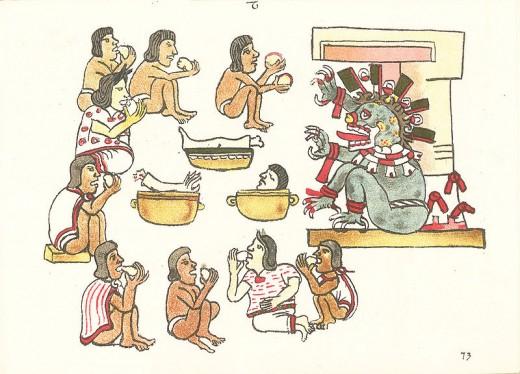 Ancient civilizations that practiced cannibalism