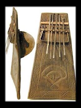 Quioco / Chokwe musical instrument