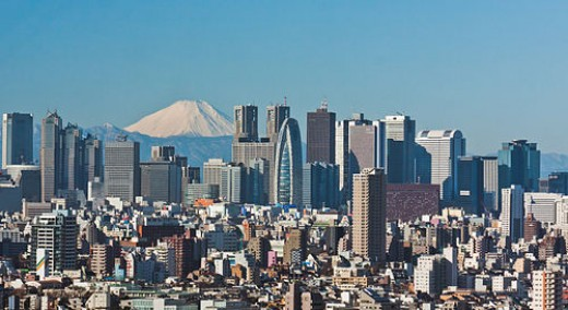 Tokyo, Capital city of Japan