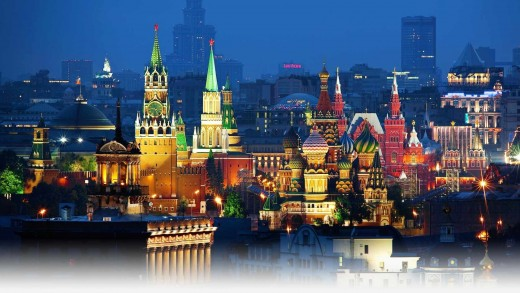 Moscow, Capital city of Russia