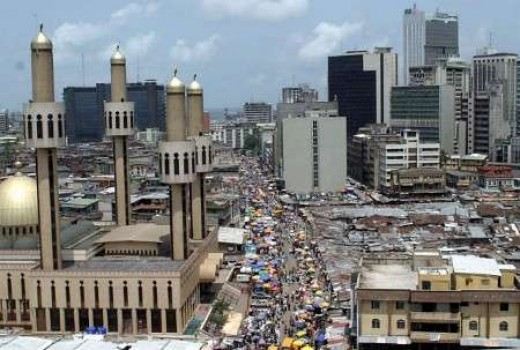 Lagos, Largest city in Nigeria