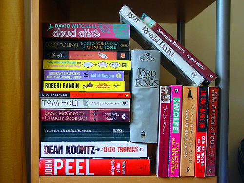 Books, books, books from Ian Wilson on Flickr