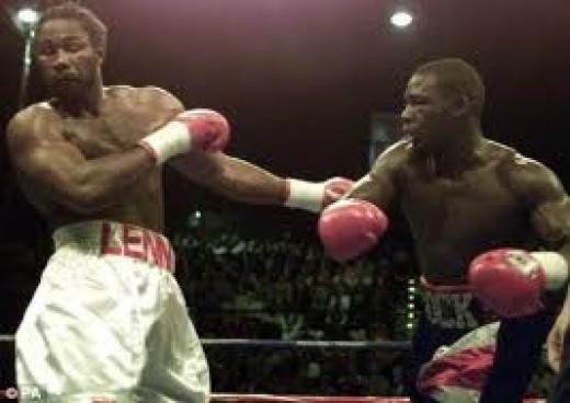 Hasim Rahman shocked the world when he knocked out reigning champion Lennox Lewis in 5 rounds.