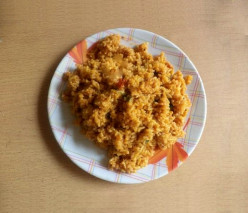 Tomato Rice Recipe - South Indian Takkali Sadam