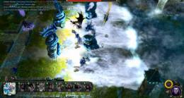 Beware the Enraged Kirin's Great Tsunami. It will destroy units and dishearten the hero.