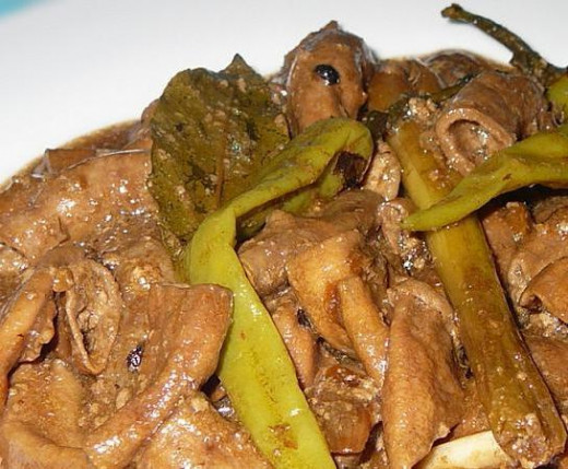 Adobong Pinoy - Adobong Isaw or adobong bituka Recipe