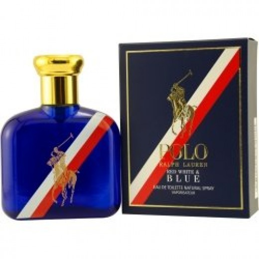 Polo Red White & Blue