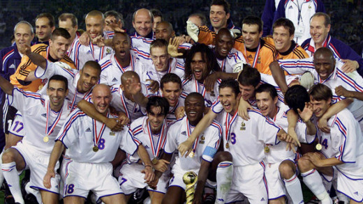 France with their first Confederation Cup Trophy