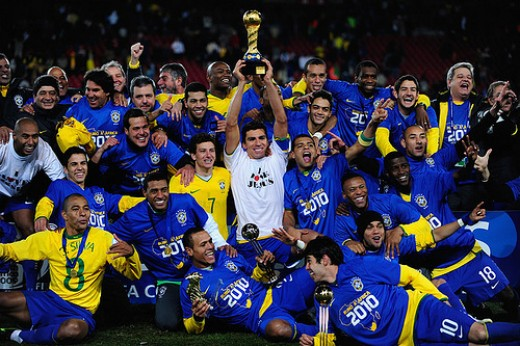 Brazil is the team with the highest number of Confederation Cup Trophies