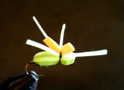 Fly Tying the Hi-Vis Foam Spider