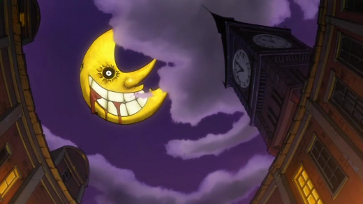 The Moon is an important motif of the show.