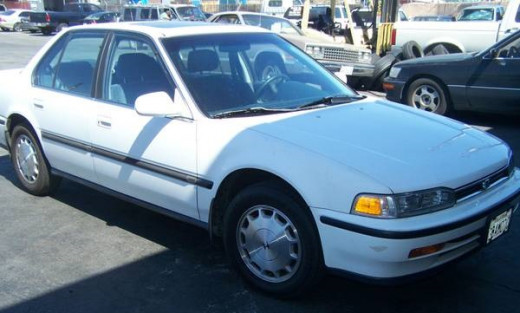 1992 Honda Accord, Kinda Funny Lookin'