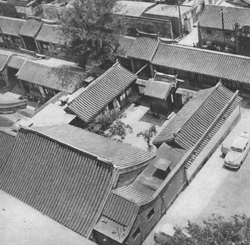 Fig.1 A Chinese Urban Courtyard House