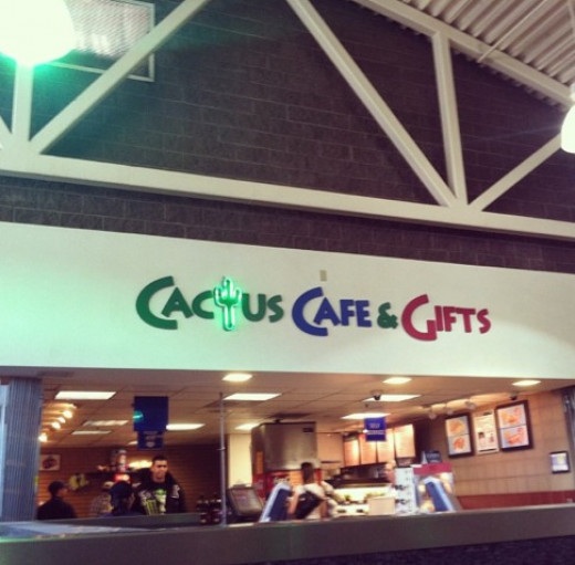 Welcome to Glendale, AZ - home of the Cactus Cafe & Gifts