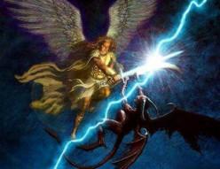 Satan rages war in the Heavenlies!