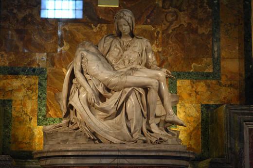 Michelangelo's Peita