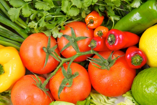 Using the freshest produce possible is key for amazing salsa.  Those habaneros are optional if you are feeling brave.