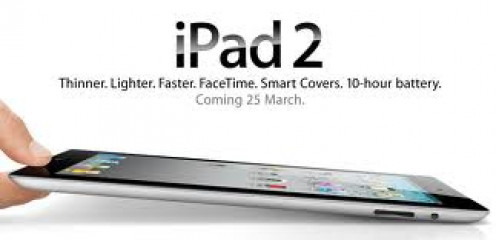 The IPad 2 is light, thin and it has a ten hour battery life before it needs a charge which happens with a USB cord.
