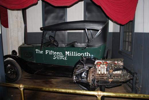 Need I say more.  The incredible Ford Model T.