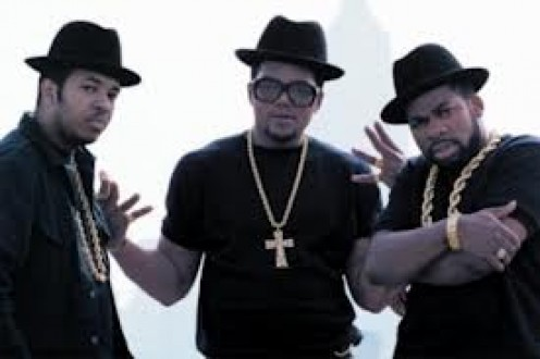 Run DMC was a transcendent hip hop band who teamed up with rock bands such as Aerosmith to make hits.