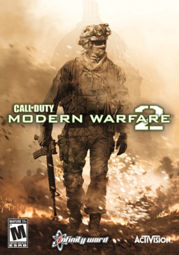 """Call of Duty: Modern Warfare 2"" cover art"