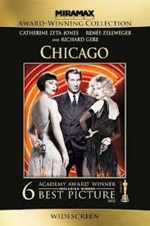Queen Latifah and Richard Gere star in the musical film called Chicago. This was a broadway masterpiece that stands tall amongst musicals of any kind.