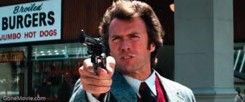 Clint Eastwood plays as Dirty Harry Callahan and the .44 Magnum is his weapon of choice. Action packed.