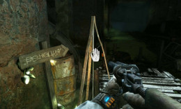 Metro Last Light ring the bell and wait for the ferryman. It's an agonizing wait, literally, as monsters appear to assault the hero.