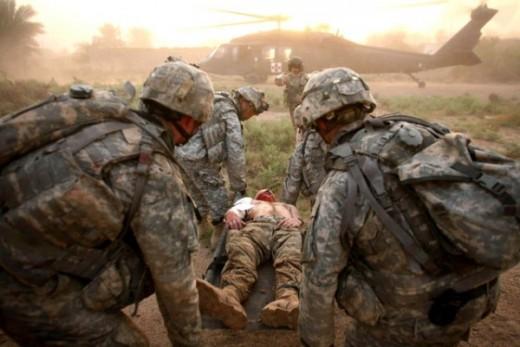 war-casualties by Myra Adams