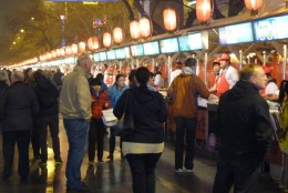 7 a) The Wangfujing Night Food Market in Beijing