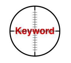 Google keyword optimization