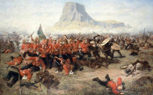 The battle of Isandhlwana saw the mightiest nations of Europe and Africa clash for the first time, with rather surprising results considering the gulf in technology.