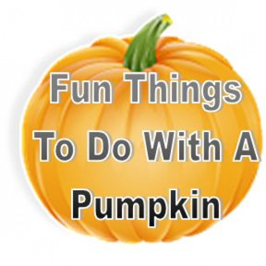 Fun things to do with a pumpkin