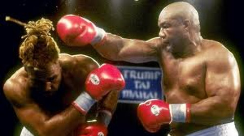 Big George got ripped off when Shannon Briggs is awarded a decision in a bout that Foreman won at least 8 or 9 rounds.