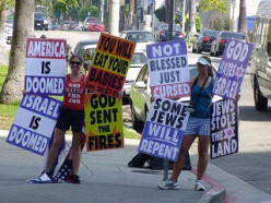 Westboro Baptist Church.  Are they following God?