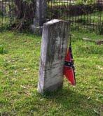 Confederate soldier's grave