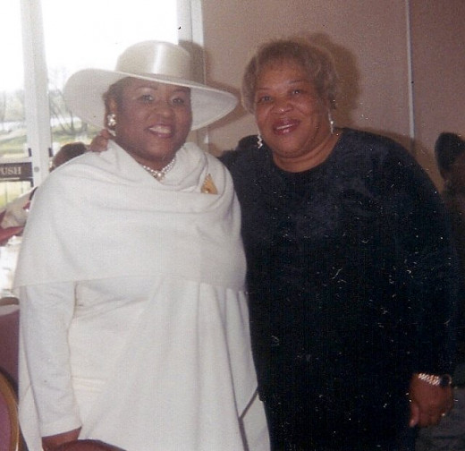 My mother and I at a wedding back in late 90's or very early 2000's. Chicago