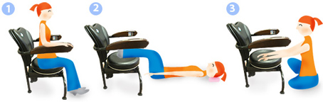 There are endless possibilities with the Hawaii Hula Chair.