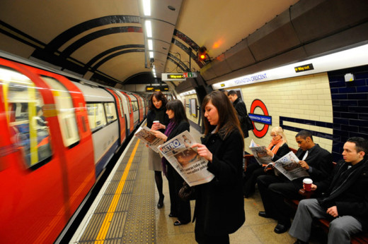 London tube Network For Business Fast Pace Travellers
