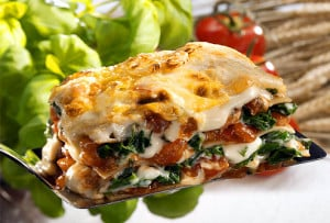You can use Chinese Spinach in your favorite Vegetable Lasagna recipe