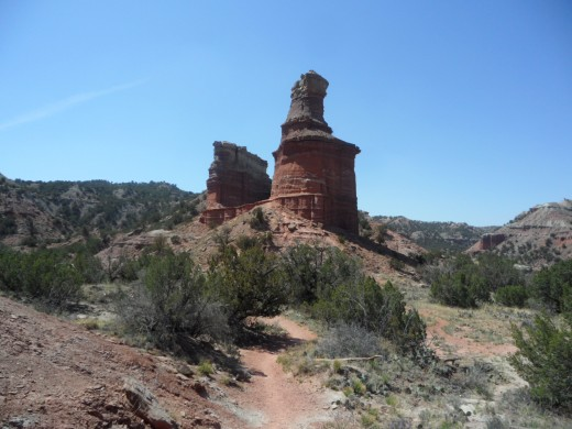 Lighthouse Rocks of Palo Duro