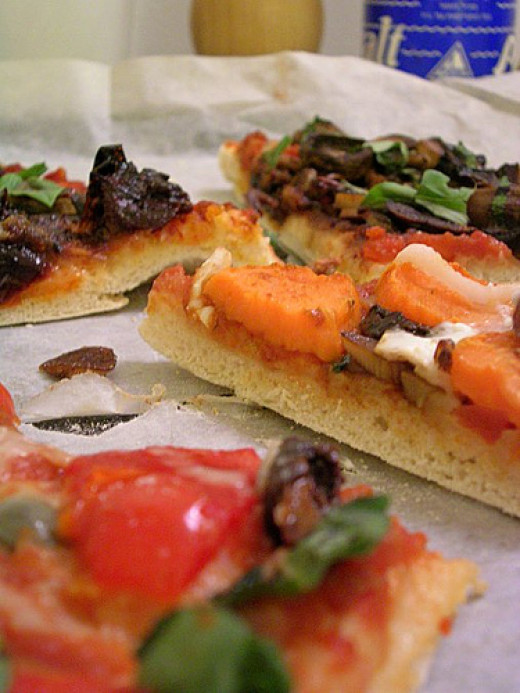 Pizza, pizza by surekat on Flickr