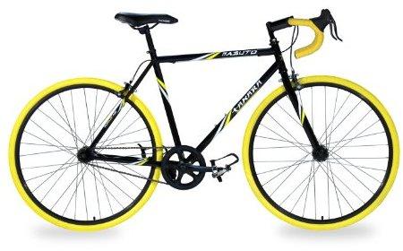 Takara Kabuto Single Speed Road Bike (Yellow/Black)