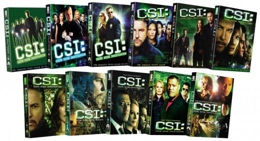 CSI: Crime Scene Investigation - Seasons 1-11